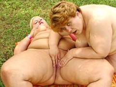 Fat Mature Blonde Toy Pounded