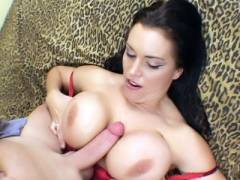 MILF Angelica Gets Titty Fucked