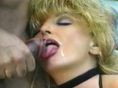 Mature Blonde Gets Jism Facial