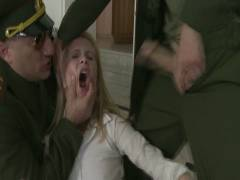 Bound Group gexes: Daddy's Girl: 19 Year Old Russian Cutie's House Is Invaded By Officers