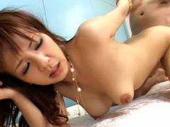 Rin Yuuki hammered deeply in her brown eye – hot coitus in ano